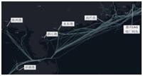 船舶运行轨迹分析图_期刊发表